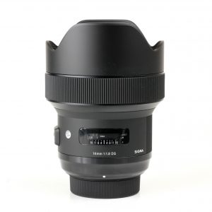 Sigma 14mm f1.8 art