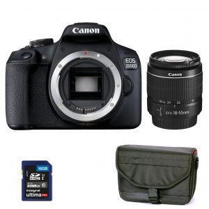 canon eos-2000d+18-55-DC-III-travel kit