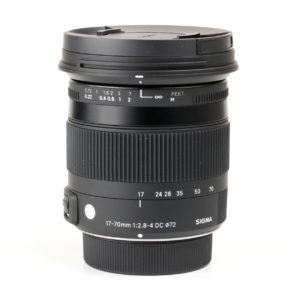 Sigma 17-70mm f2.8-4 OS HSM Contemporary
