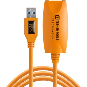 TetherTools prolunga usb 3.0 4,6m orange